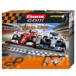 CARRERA Αυτοκινητόδρομος Slot Go!! FINAL LAP 62365 4007486623651