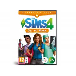 EA GAMES PC The Sims 4 Get To Work Expansion Pack 5030942112511 5030942112511