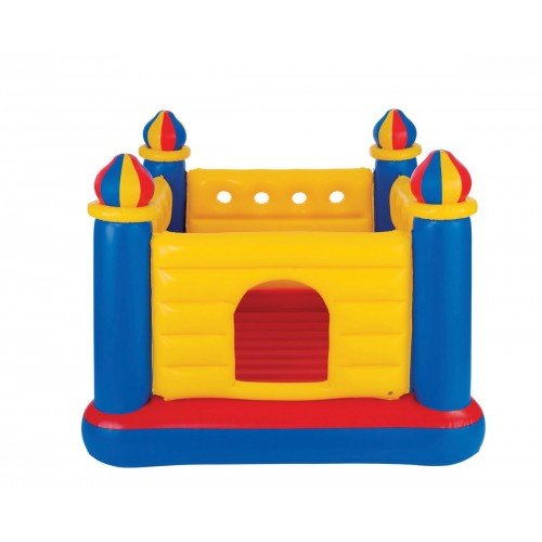 INTEX ΤΡΑΜΠΟΛΙΝΟ ΦΟΥΣΚΩΤΟ ΠΑΡΚΟ ΚΑΣΤΡΟ Jump-O-Lene Castle Bouncer 48259 078257482597
