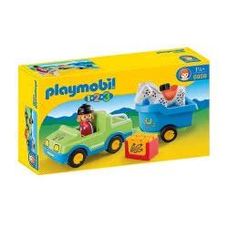 Playmobil Αυτοκίνητο Και Τρέιλερ Με Άλογο 6958 4008789069580