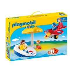 Playmobil Διασκέδαση Στη Θάλασσα 123 6050 4008789060501
