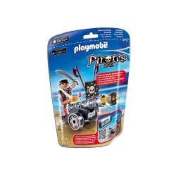 Playmobil Μαύρο κανόνι με πυροβολητή 6165 4008789061652