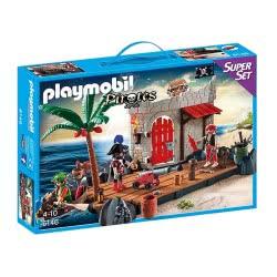 Playmobil Superset Πειρατικό Οχυρό 6146 4008789061461