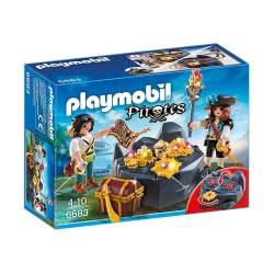 Playmobil Κρησφύγετο πειρατικού θησαυρού 6683 4008789066831