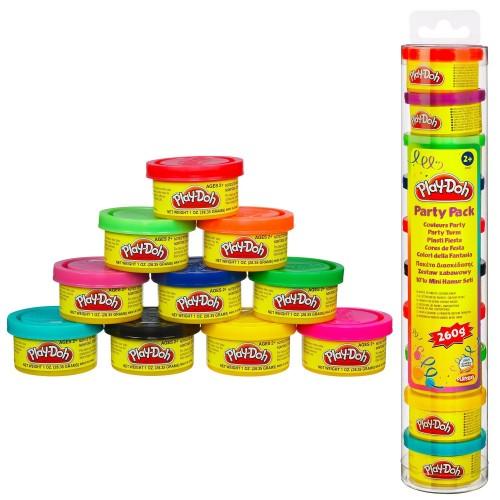Hasbro PLAY-DOH PARTY MINI BAZ.10TMX-PARTY TUBE 22037 5023117739941