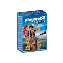 Playmobil Αρχηγός πειρατών 6684 4008789066848
