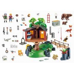Playmobil Μεγάλο δεντρόσπιτο 5557 4008789055576