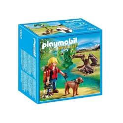Playmobil Εξερευνητής και κάστορες 5562 4008789055620