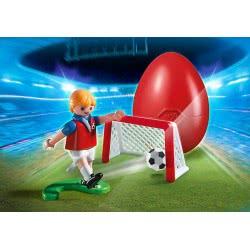 Playmobil Ποδοσφαιριστής με τέρμα 4947 4008789049476