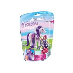 Playmobil Πριγκίπισσα Βιολέτα με άλογο 6167 4008789061676