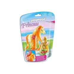 Playmobil Πριγκίπισσα Ηλιόλουστη με άλογο 6168 4008789061683