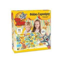 Real Fun Toys Επιτραπέζιο Φιδάκι-Γκρινιάρης Tom & Jerry 8637 5200392386378