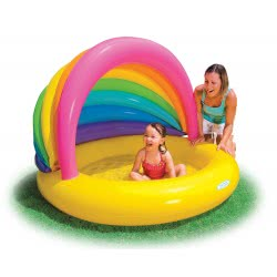 INTEX ΠΙΣΙΝΑ Rainbow Shade Pool 155x135x104cm 57420 078257574209