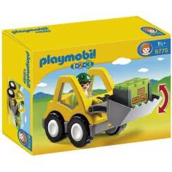 Playmobil 1.2.3 Excavator 6775 4008789067753