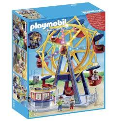 Playmobil Ρόδα Λούνα Παρκ Με Φώτα 5552 4008789055521