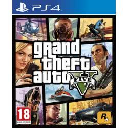 ROCKSTAR GAMES PS4 GTA Grand Theft Auto V  5026555416986