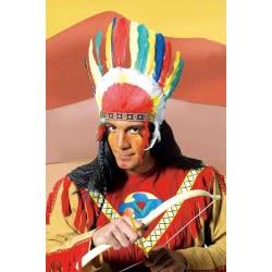 maskarata Καπέλο Ινδιάνου με φτερά ΚΦΒ010 5200304480316