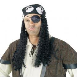 CLOWN Περούκα πειρατή με μαντήλι 72191 5203359721915