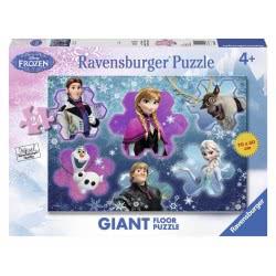 Ravensburger Παζλ Δαπέδου Disney Frozen Ο κόσμος της Άννας 24τεμ. 05437 4005556054374