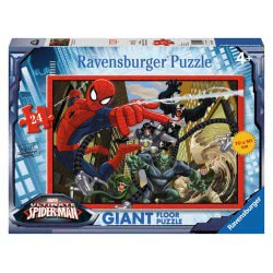 Ravensburger Παζλ Δαπέδου 24τεμ. Spiderman η Μάχη 05440 4005556054404