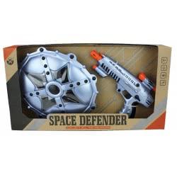 Toys-shop D.I Όπλο B/O Αστρομαχητή και Ασπίδα Combo Set JG024109 6990416241095