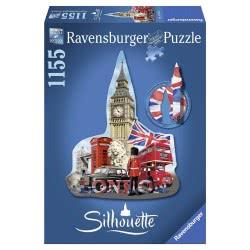 Ravensburger Παζλ Silhouette 1155Τεμ. Big Ben 05-16155 4005556161553