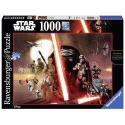 Ravensburger Παζλ 1000Τεμ. Star Wars VII The Force Awakens 05-19549 4005556195497
