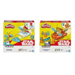 Hasbro Play-Doh Star Wars Cans Σε 2 Σχέδια B0595 5010994878047