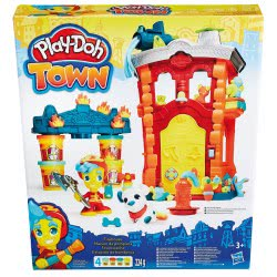Hasbro Play-Doh Town Firehouse Πυροσβεστική B3415 5010994942489