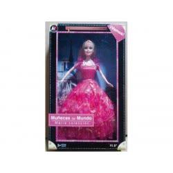 Toys-shop D.I Κούκλα Μόδας 29Εκ. Με Φόρεμα Τουαλέτα JO063482 6990416634828