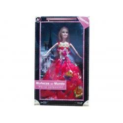 Toys-shop D.I Κούκλα Μόδας 29Εκ. Με Φόρεμα Τουαλέτα JO063470 6990416634705