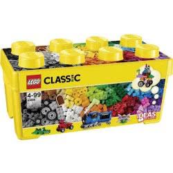 LEGO Classic Μεσαίο Κουτί με Τουβλάκια για Δημιουργίες 10696 5702015357180