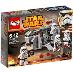 LEGO STAR WARS Imperial Troop Trans Imperial Troop Transport 75078 5702015351133