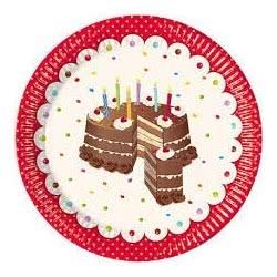 PROCOS Πιάτα Yummy Birthday 080925 5201184809259