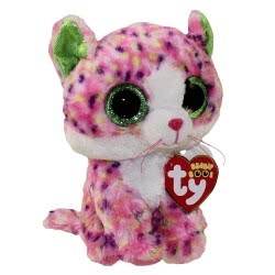 ty Beanie Boos Χνουδωτή Γάτα ροζ 15 εκ. 1607-36189 008421361892