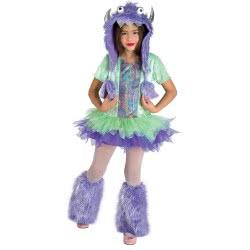 CLOWN Αποκριάτικη παιδική στολή Funky Monster No 06 54706 5203359547065
