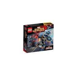 LEGO SUPER HEROES Carnage`S SHIELD H Εναέρια Επίθεση Του Κάρνατζ Στην ΑΣΠΙΔΑ 76036 5702015354035