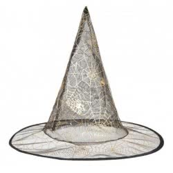 Christakopoulos Καπέλο μάγισσας με χρυσό σχέδιο 7801 5212007535507
