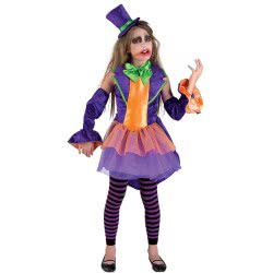 CLOWN Αποκριάτικη παιδική στολή Crime Princess No 08 48608 5203359486081
