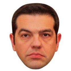 CLOWN Αποκριάτικη χάρτινη σατιρική μάσκα Τσίπας 72441 5203359724411