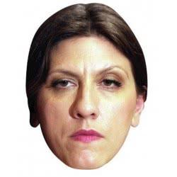 CLOWN Αποκριάτικη χάρτινη σατιρική μάσκα Η πρόεδρος 72450 5203359724503