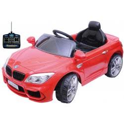 MG TOYS Μπαταριοκίνητο Τηλεκατευθυνόμενο BMW Style Car 12V Χρωμα Κόκκινο 412167 5204275121674