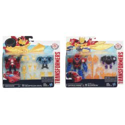 Hasbro Transformers Robots In Disguise - Minicon Battle Pack 2 σχέδια B4713 5010994930301