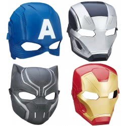 Hasbro Captain America Civil War Movie Μάσκα Ήρωα - 4 Σχέδια B6654 5010994960575