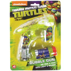 As company Turtles Χελωνονιντζάκια TMNT Όπλο Μπουρμπουλήθρες με φως και ήχο 5200-01081 5203068010812