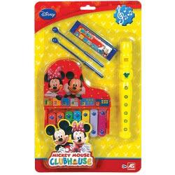 As company Μικρό Σετ Μεταλλόφωνο, Φλογέρα, Φυσαρμόνικα Mickey Mouse 6010-11095 5203068110956
