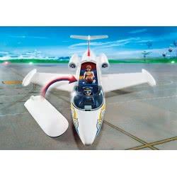 Playmobil Αεροπλάνο Με Πιλότο Και Τουρίστες 6081 4008789060815