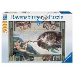 Ravensburger Παζλ 5000τμχ Michelangelo Η δημιουργία 05-17408 4005556174089