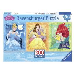 Ravensburger Παζλ 200 Τμχ XXL Disney Princess Όμορφες Πριγκίπισσες 12825 4005556128259