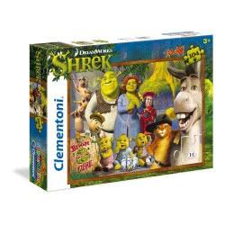 Clementoni Παζλ 104τεμ MAXI Super Color Shrek 1210-23696 8005125236961